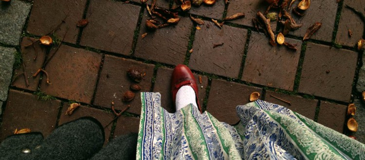 Wiesn mit den roten Schuhen