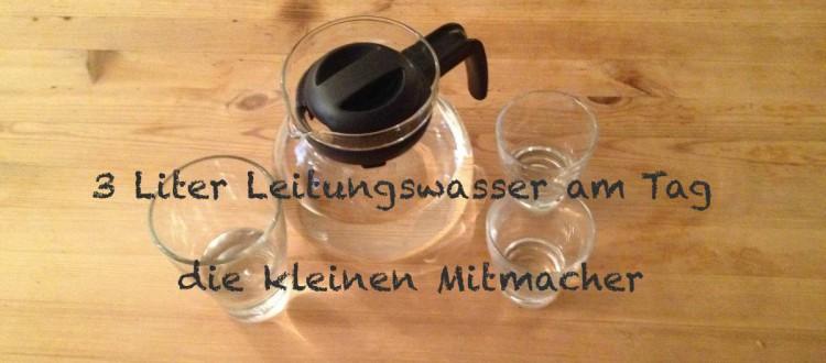 Header 3 Liter Leitungswasser am Tag 15. Tag