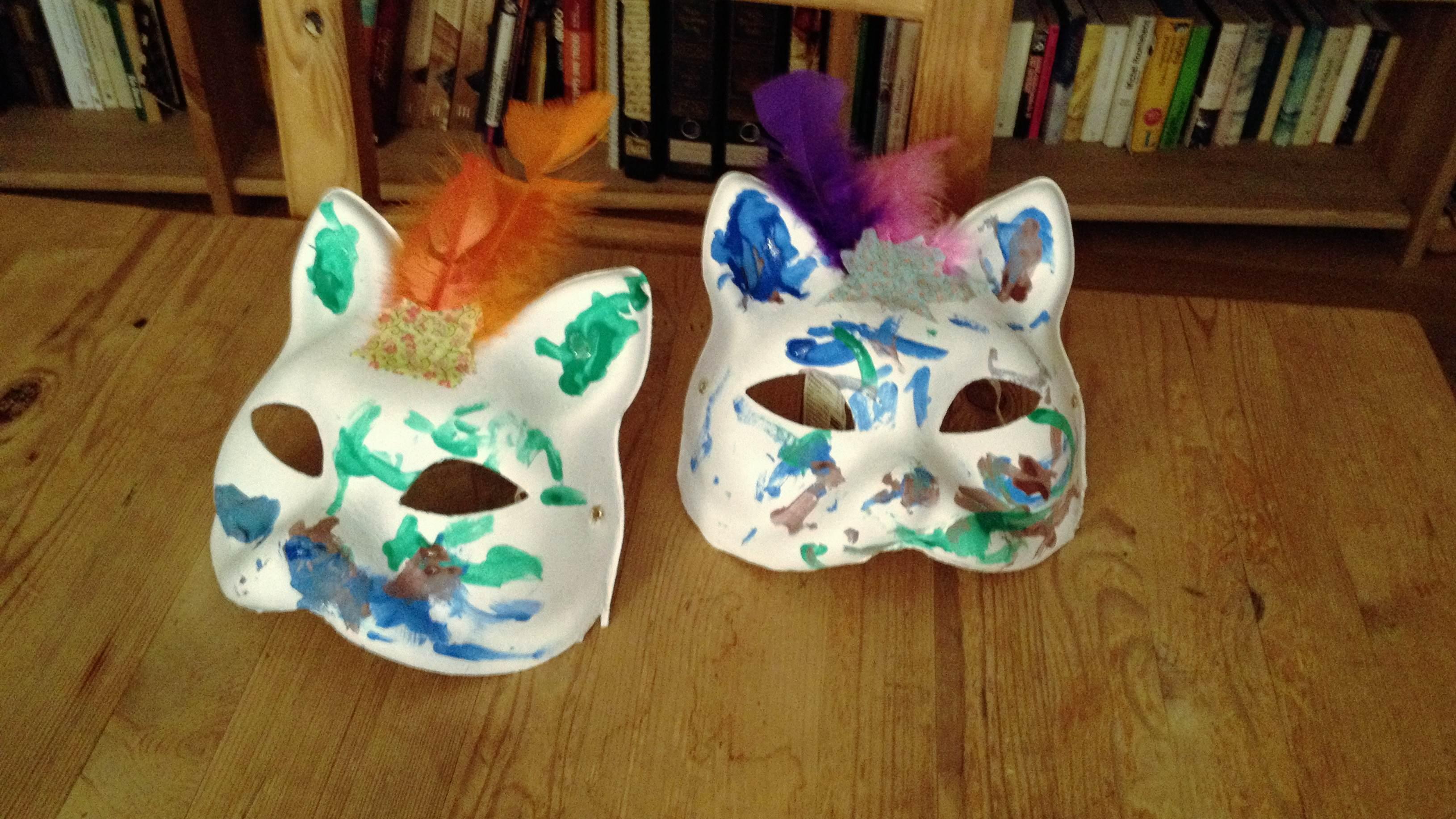 Katzenmaske fertig