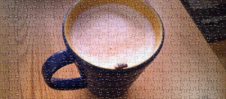 Samstagkaffee mit Puzzle_