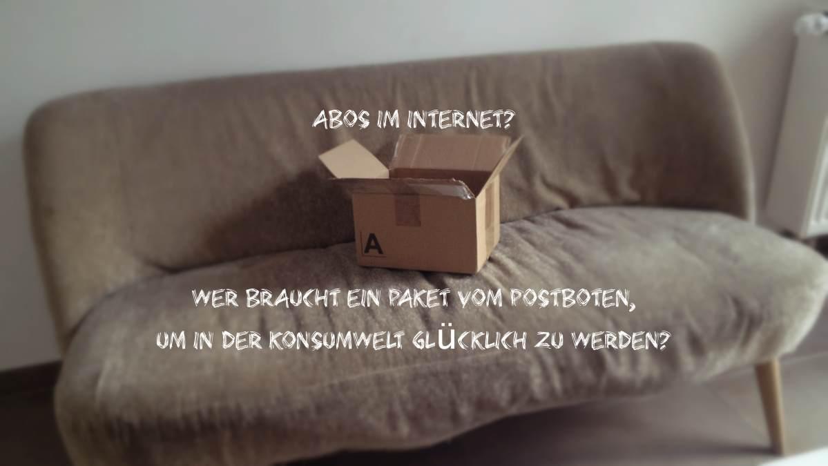 konsum abos im Internet