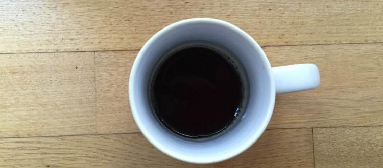 Samstagskaffee Schluck Wasser in der Kurve