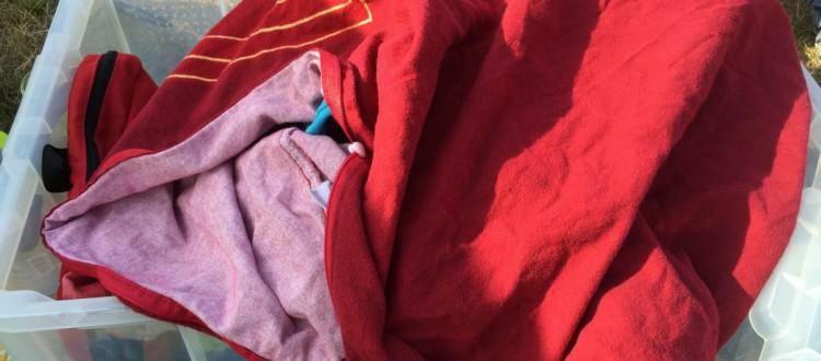 Camping Aufbewahrung Schmutzwäsche