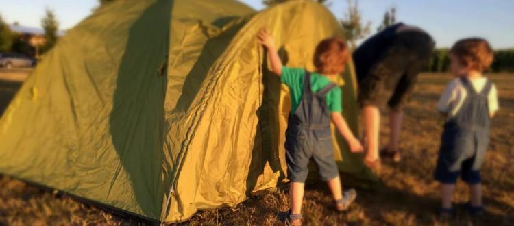 Camping Kinder Zelt