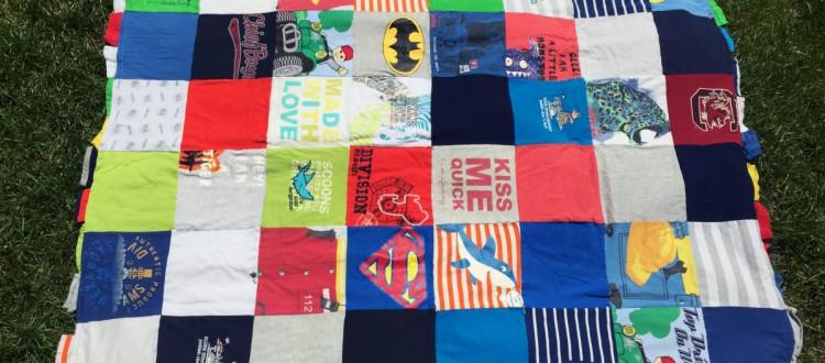 t-Shirt-Quilt Anleitung 11