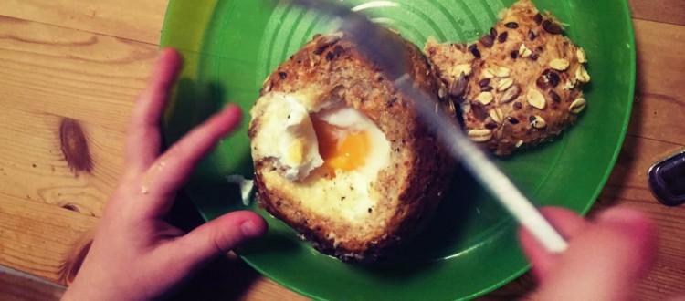 Ei in der Semmel Header