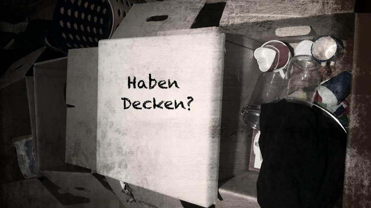 Flüchtlinge_Decken