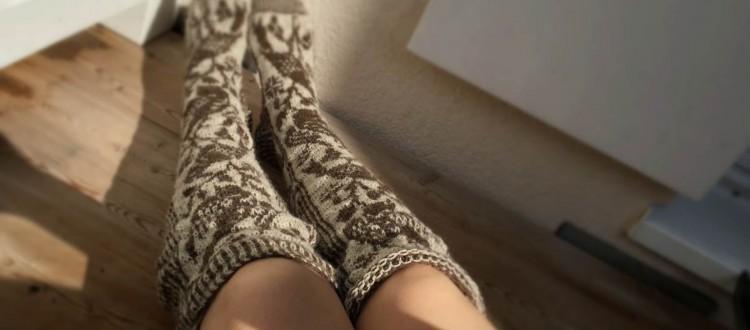 Nightingale Socks übertrieben