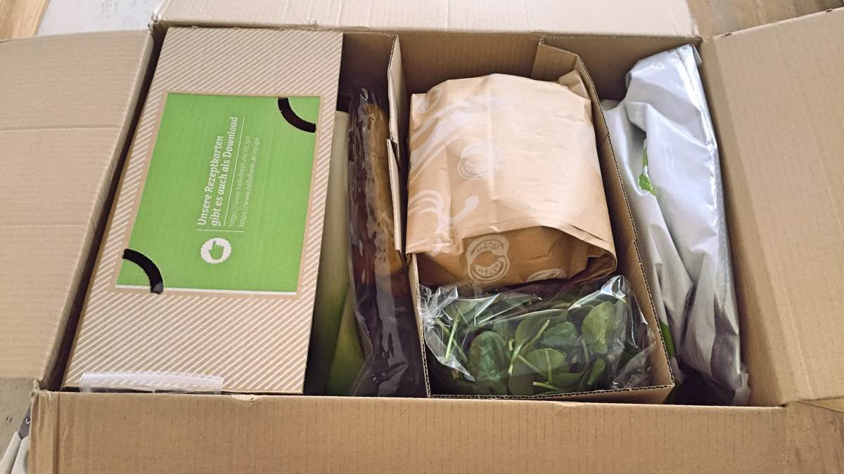 hello fresh unboxing